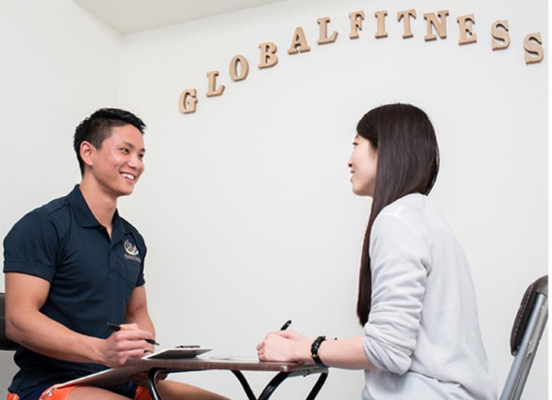 GlobalFitness(グローバルフィットネス)のトレーニングサポート