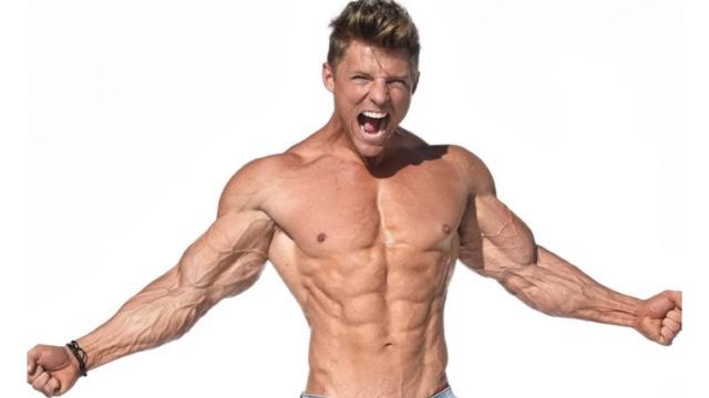 筋肉量が多い × 筋肉率が高い