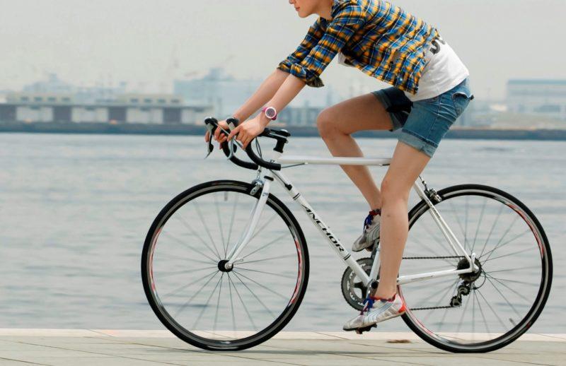 自転車ダイエットはお腹と太ももを引き締められる